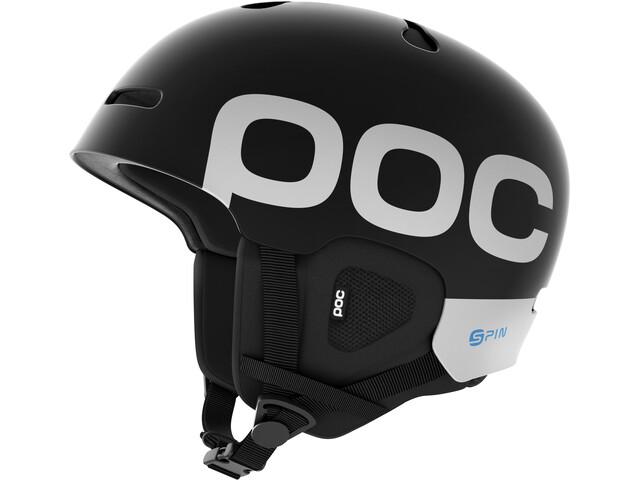 POC Auric Cut Backcountry Spin Helmet Uranium Black